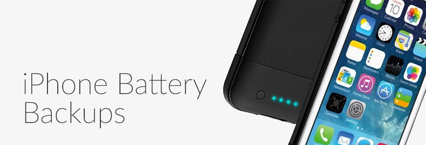 iPhone Battery Backups