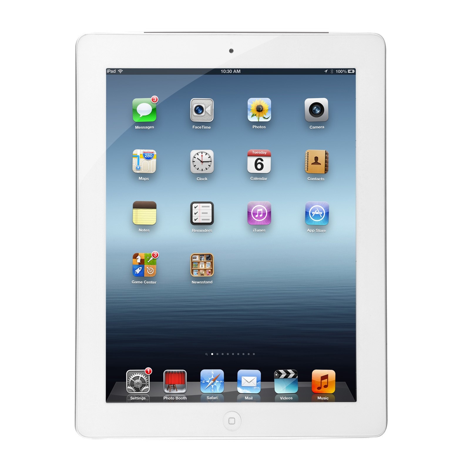 Apple iPad 4 Cellular Tablet 16GB White