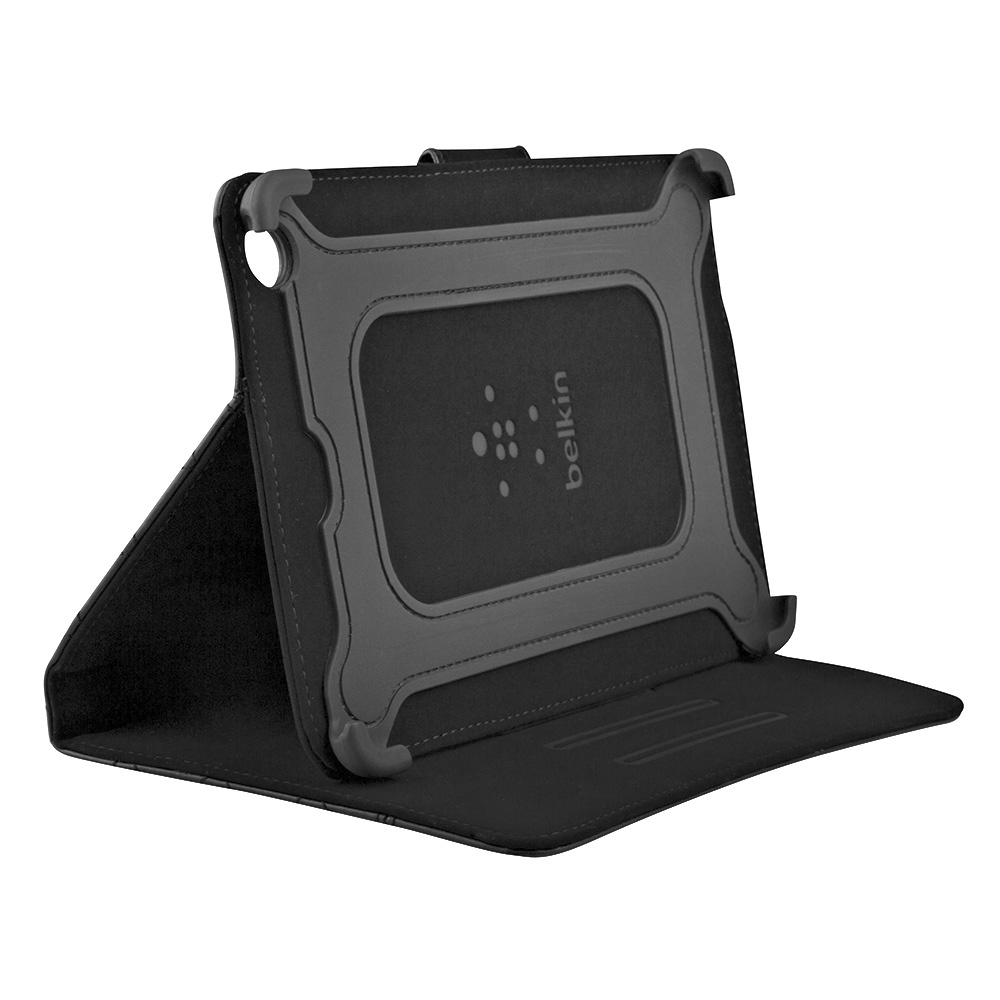 Belkin Quilted Cover with Stand for Apple iPad Mini  iPad Mini Retina  (Black)