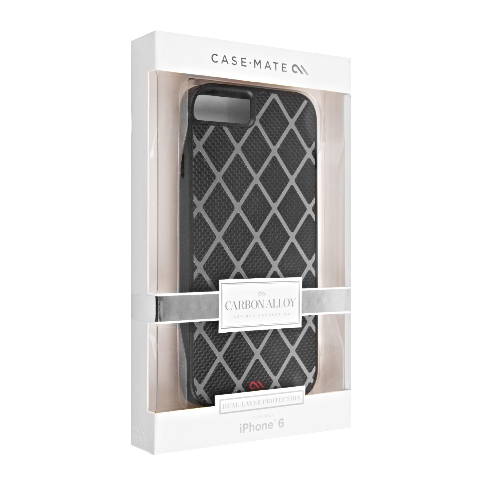 Case-Mate Carbon Alloy Carrying Case for iPhone 6 (Matt Black)