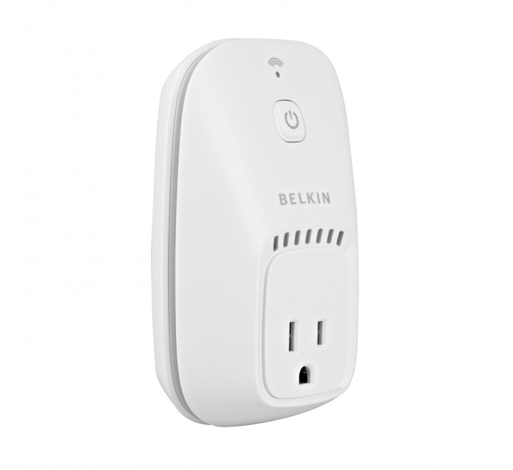 Belkin WeMo Wi Fi Controlled Outlet Switch White