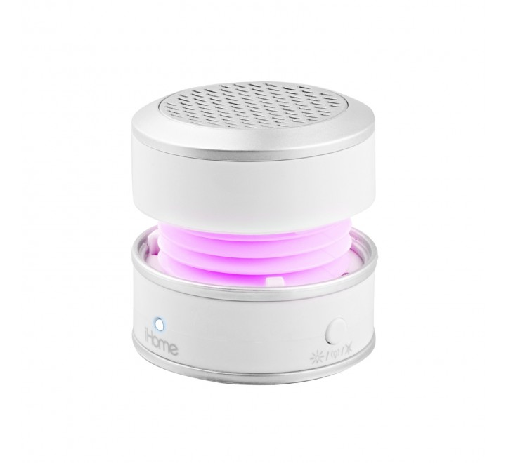 iHome iHM61 3.5mm Auxiliary Color Changing Portable Mono Speaker