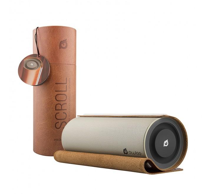 Owlee Scroll Vintage Leather Bluetooth Speaker