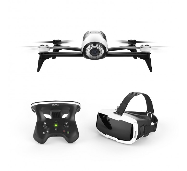 Parrot Bebop 2 FPV Drone Kit with Parrot CockpitGlasses and Parrot SkyController 2