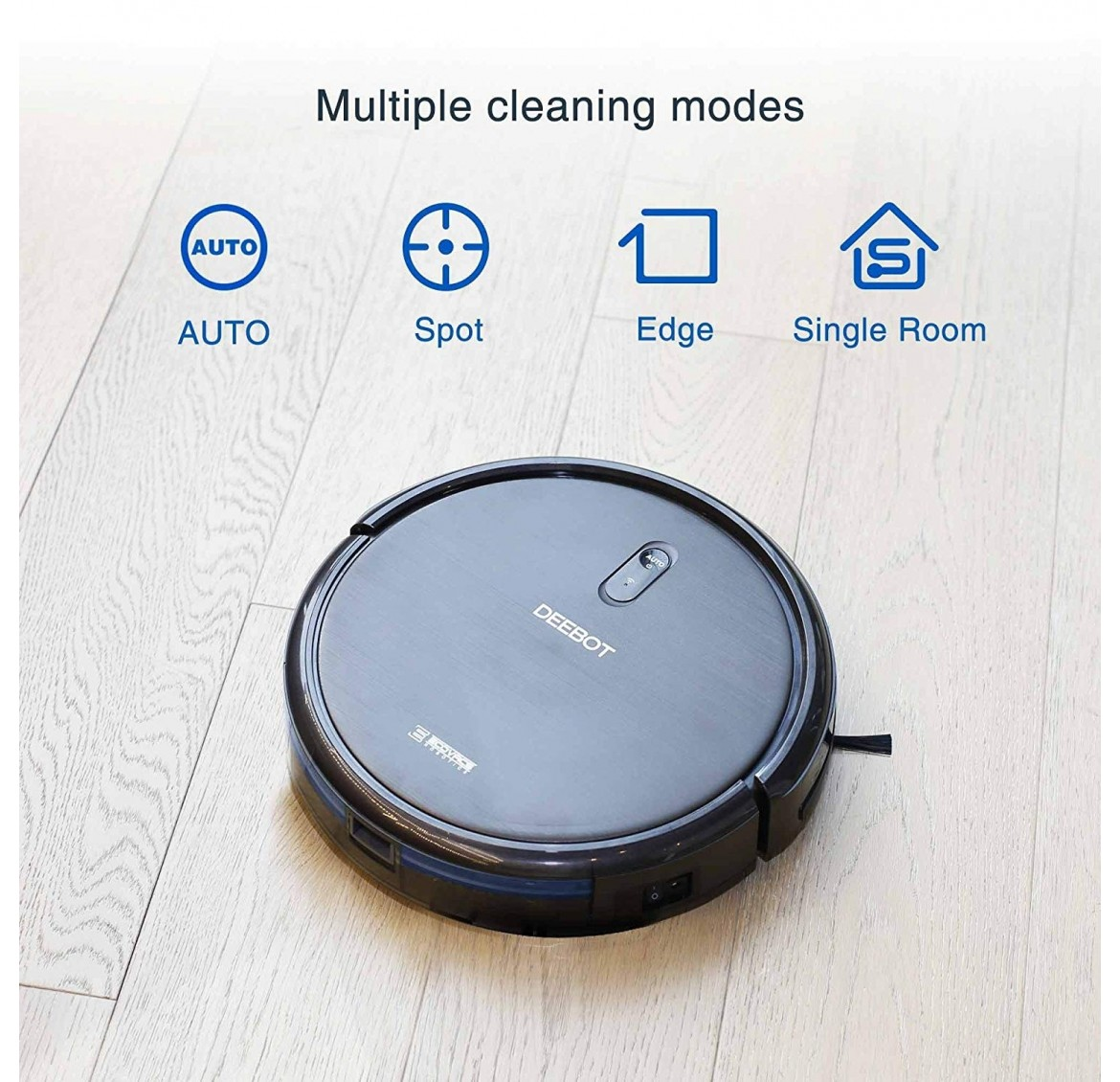 Ecovacs Deebot N79 Robotic Vacuum Cleaner (Black)