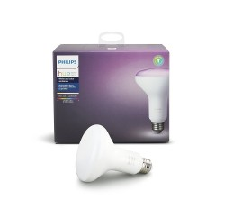 Philips Hue White and Color Ambiance 3rd Generation BR30 Dimmable LED Floodlight Bulb (Works with Amazon Alexa, Google Assistant, and Apple HomeKit)