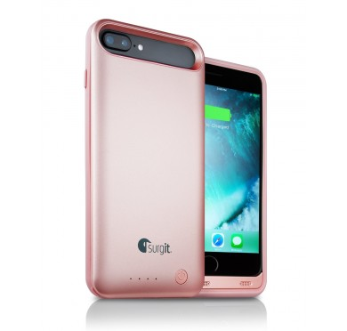 Surgit iPhone 7 Plus/8 Plus Battery Case (Rose)