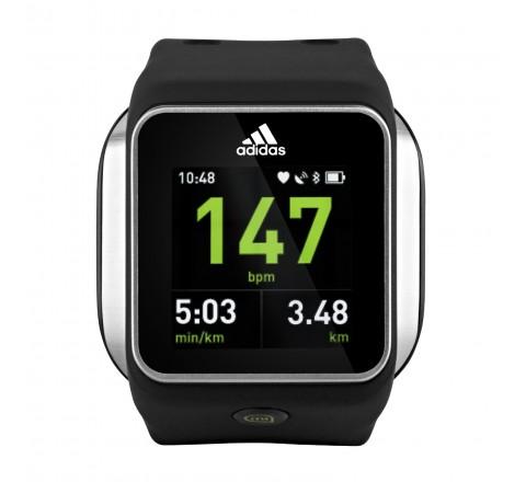 Adidas miCoach Smart Run Watch (Black)
