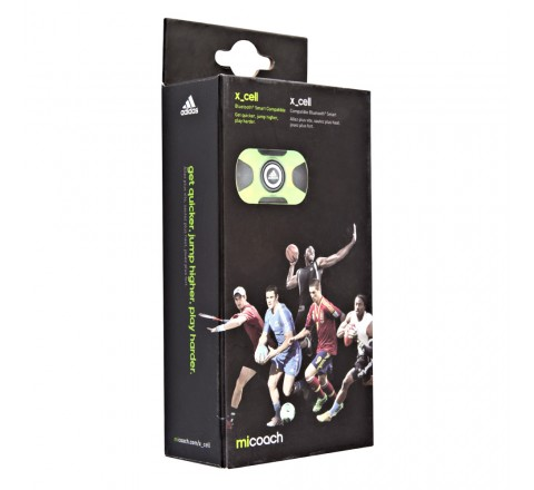 Adidas Z51350 Micoach X_Cell Activity & Fitness Tracker (Green)