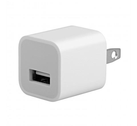 Apple Rapid Charging Head with USB Port for All iPhone and iPod Models (White)