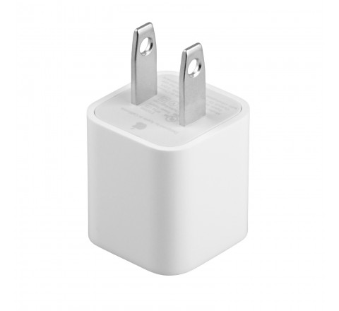 Apple A1385 Travel USB Wall Charger for iPhone/iPad (White)