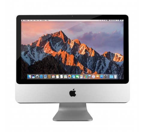 "Apple iMac MA876LL/A 20"" Desktop Computer (Silver)"