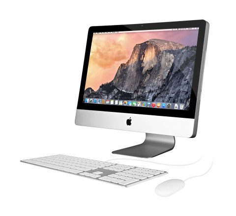 "Apple iMac MB950LL/A 21.5"" Desktop Computer (Silver)"