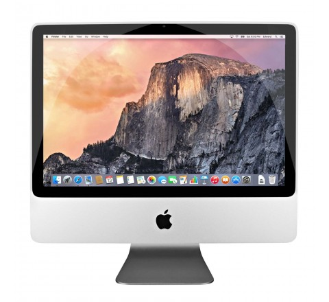 "Apple iMac MC015LL/A 20"" Desktop Computer (Silver)"
