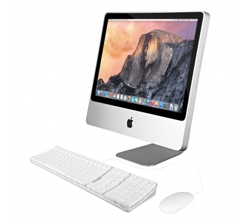 "Apple iMac MC015LL/C 20"" Desktop Computer (Silver) *Education Version*"