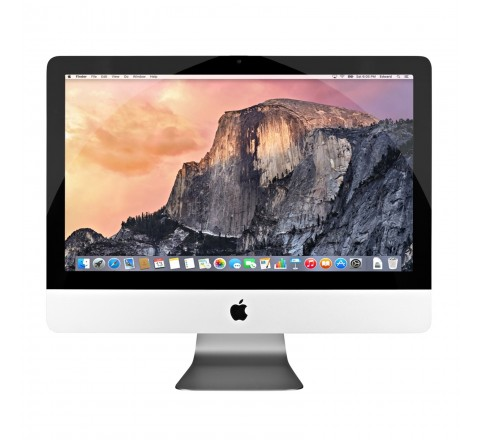 "Apple iMac MC812LL/A 21.5"" Desktop Computer (Silver)"