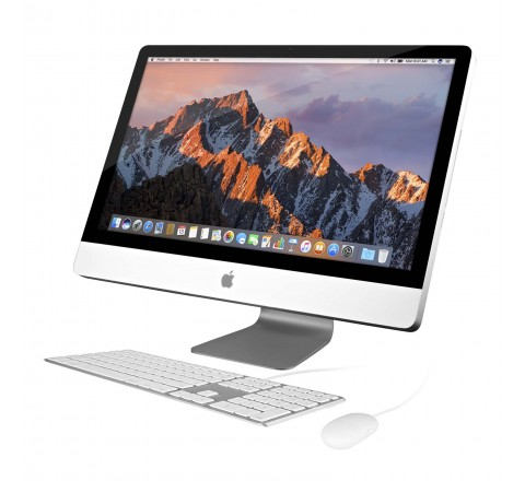 "Apple iMac MC813LL/A 27"" Desktop Computer (Silver)"