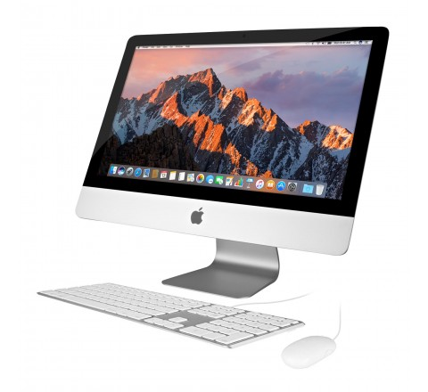 "Apple iMac ME086LL/A 21.5"" Desktop Computer (Silver)"