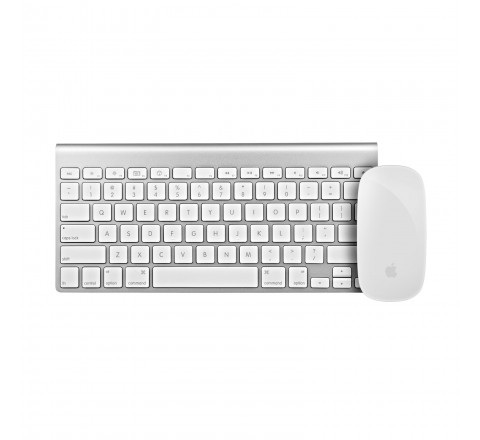 Apple Magic Bluetooth Mouse and Wireless Keyboard MC184LL/A
