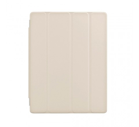Apple Leather Smart Cover for Apple iPad 2/3/4 (Cream)
