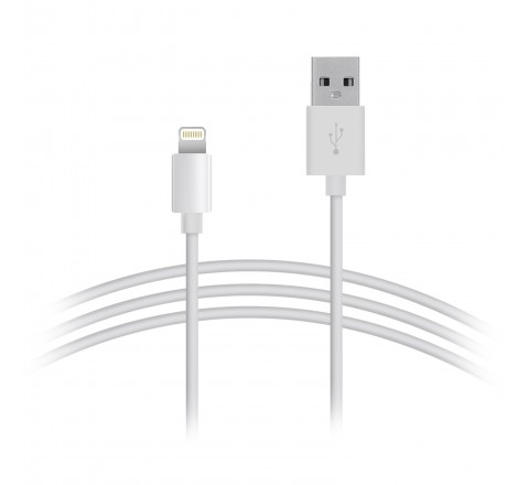 Apple Lightning to USB Cable-1 Meter (White)