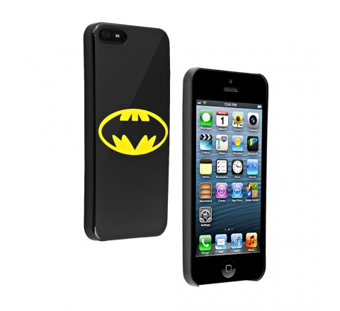 Batman Hard Cover for Apple iPhone 5/5S/SE (Black)