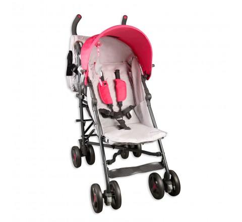 Baby Cargo Series 50 Deluxe Lite Baby Stroller (Pink/Gray)