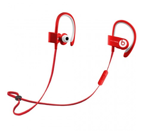 Beats by Dr. Dre Powerbeats 2 Bluetooth Earbuds (Red)