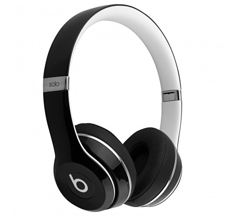 Beats By Dr. Dre Solo 2 Luxe Edition On-Ear Headphones (Black)