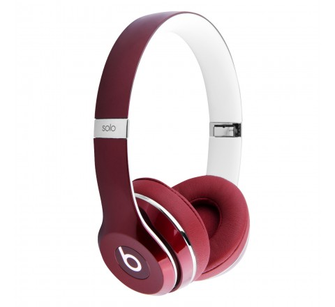 Beats By Dr. Dre Solo 2 Luxe Edition On-Ear Headphones (Red)