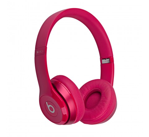 Beats By Dr. Dre Solo 2 On-Ear Headphones (Pink)