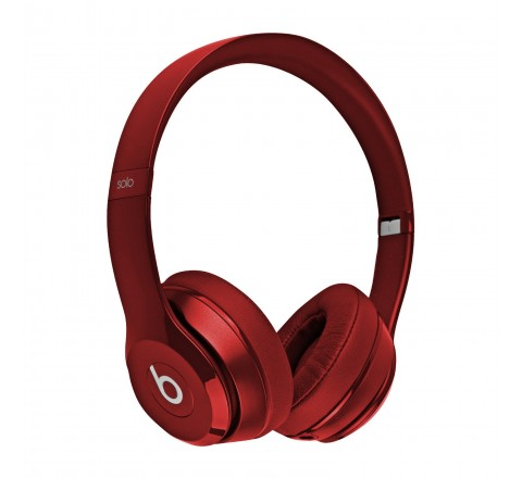 Beats By Dr. Dre Solo 2 On-Ear Headphones (Red)