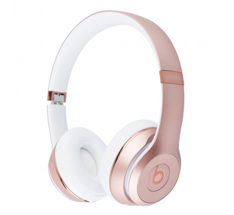 Beats By Dr. Dre Solo 3 Wireless On-Ear Headphones (Rose Gold)