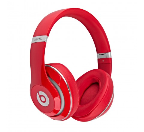 Beats By Dr. Dre Studio 2 Remastered Over-Ear Headphones (Red)