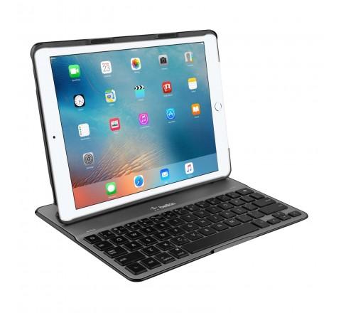 """Belkin QODE Ultimate Keyboard Case for iPad Pro 9.7"""" (Black/Silver)"""