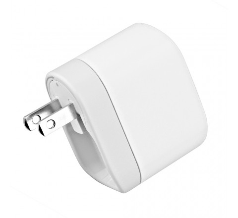 Belkin Swivel Charger & Lightning Charge/Sync Cable (White)