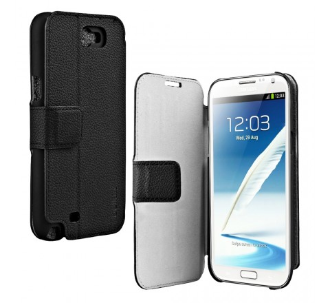Belkin Snap Folio Case for Samsung Galaxy Note 2 (Black)