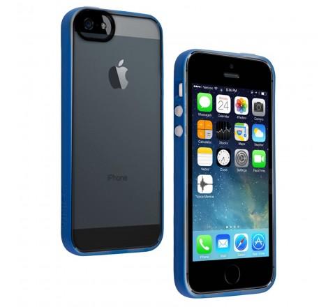 Belkin Grip Candy Sheer Case for Apple iPhone 5/5S/SE (Blue/Smoke)