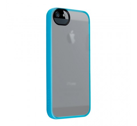 Belkin Grip Candy Case for Apple iPhone 5/5S/SE (Clear/Blue)