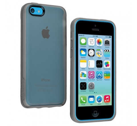 Belkin Grip Candy Case for Apple iPhone 5C (Gray)