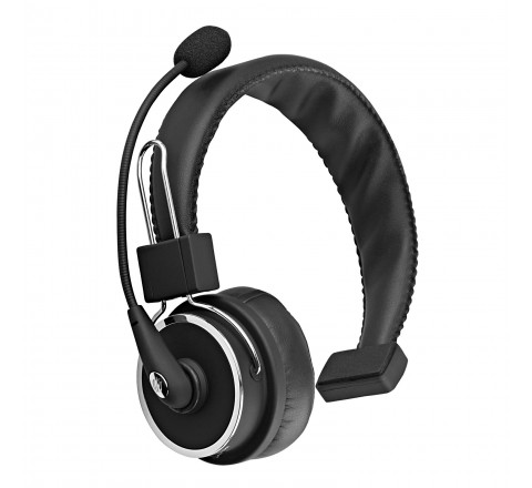 Blue Tiger Elite Wireless Bluetooth Headset with Mic (Black)