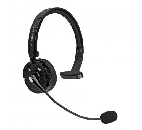 Blue Tiger Pro Wireless Bluetooth Headset with Mic (Black)