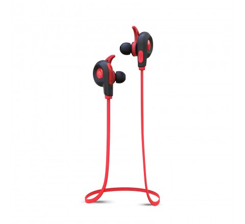 BlueAnt PUMP LITE Wireless Bluetooth Earbuds (Red)