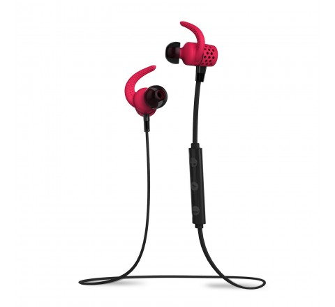 BlueAnt PUMP MINI Wireless Bluetooth Sportbuds (Red)