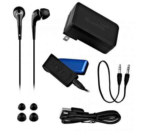 BlueAnt Ribbon Stereo Bluetooth Streamer-Turns any 3.5 Headset into Bluetooth