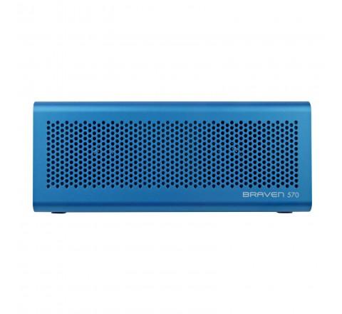 Braven 570 Portable Bluetooth Speaker w/Built-in 1200 mAh Power Bank (Blue)