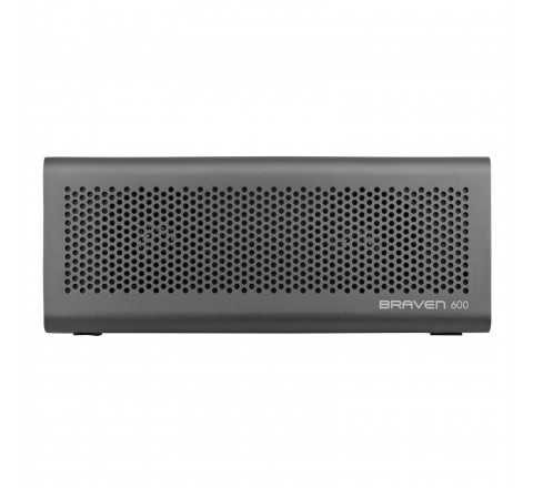 Braven 600 Portable Bluetooth Speaker w/Built-in 1400 mAh Power Bank (Red)