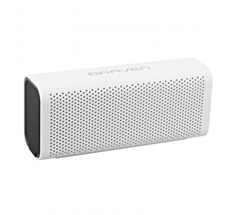 Braven 705 Portable Bluetooth Speaker w/ Built-in Power Bank (White/Black)