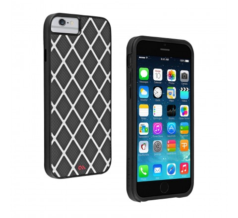 Case-Mate Carbon Alloy Carrying Case for Apple iPhone 6/6s (Matte Black)