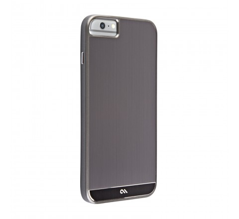 Case-Mate Aluminum Case for iPhone 6 Plus/6s Plus (Gun Metal Gray)